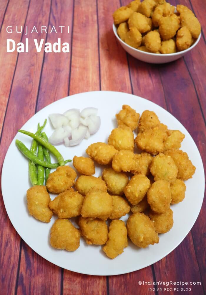 Dal Vada Recipe | How to Make Gujarati Moong Dal Vada