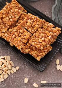 Peanut Chikki Recipe | How to Make Peanut Chikki