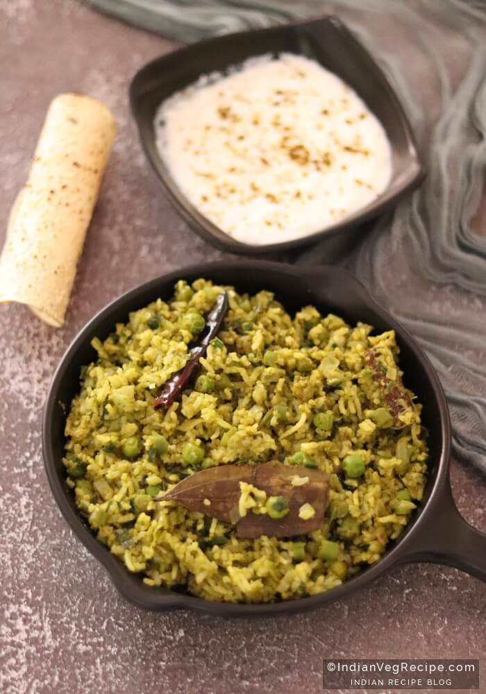 Tips To Making Green Pulao Recipe