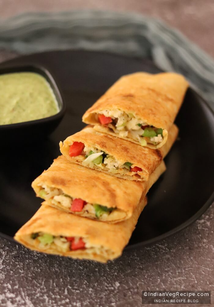 Paneer Stuffed Moong Dal Chilla Recipe