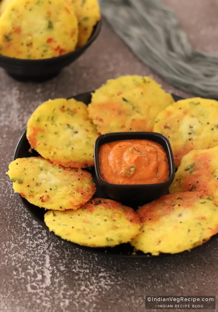 Vegetable Rava Idli Recipe